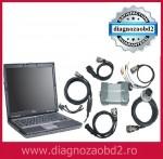 Interfata diagnoza profesionala Mercedes Benz – STAR C3 12v, 2014 + laptop Dell d630 !