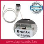 Intefata diagnoza tester auto BMW inpa K+DCAN pana in 2008 – cu buton