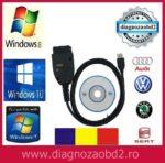Interfata diagnoza tester VAG.COM 17.8 Ro VCDS ROMANA Audi Skoda VW