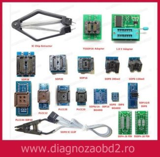 Set 16 adaptoare pt. programator memorii ECU TL866 sau RT809H