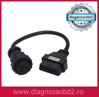 Cablu adaptor TIR Scania DAF diagnoza camion 16 pini OBD2 Delphi