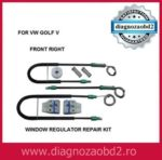 Kit macara geam auto electric VW Golf 5 V  2004 – 2008